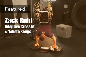 Zack Ruhl Adaptive CrossFit Tabata