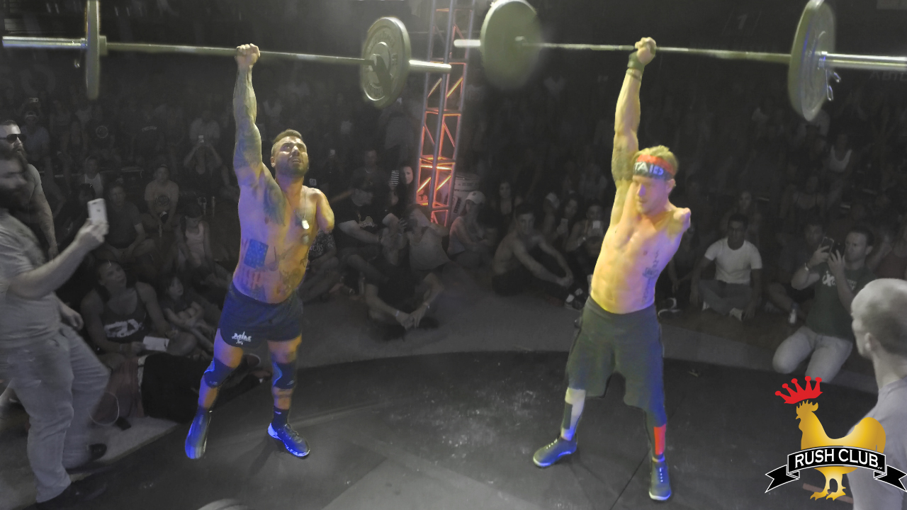 CrossFitting… with just one arm?!