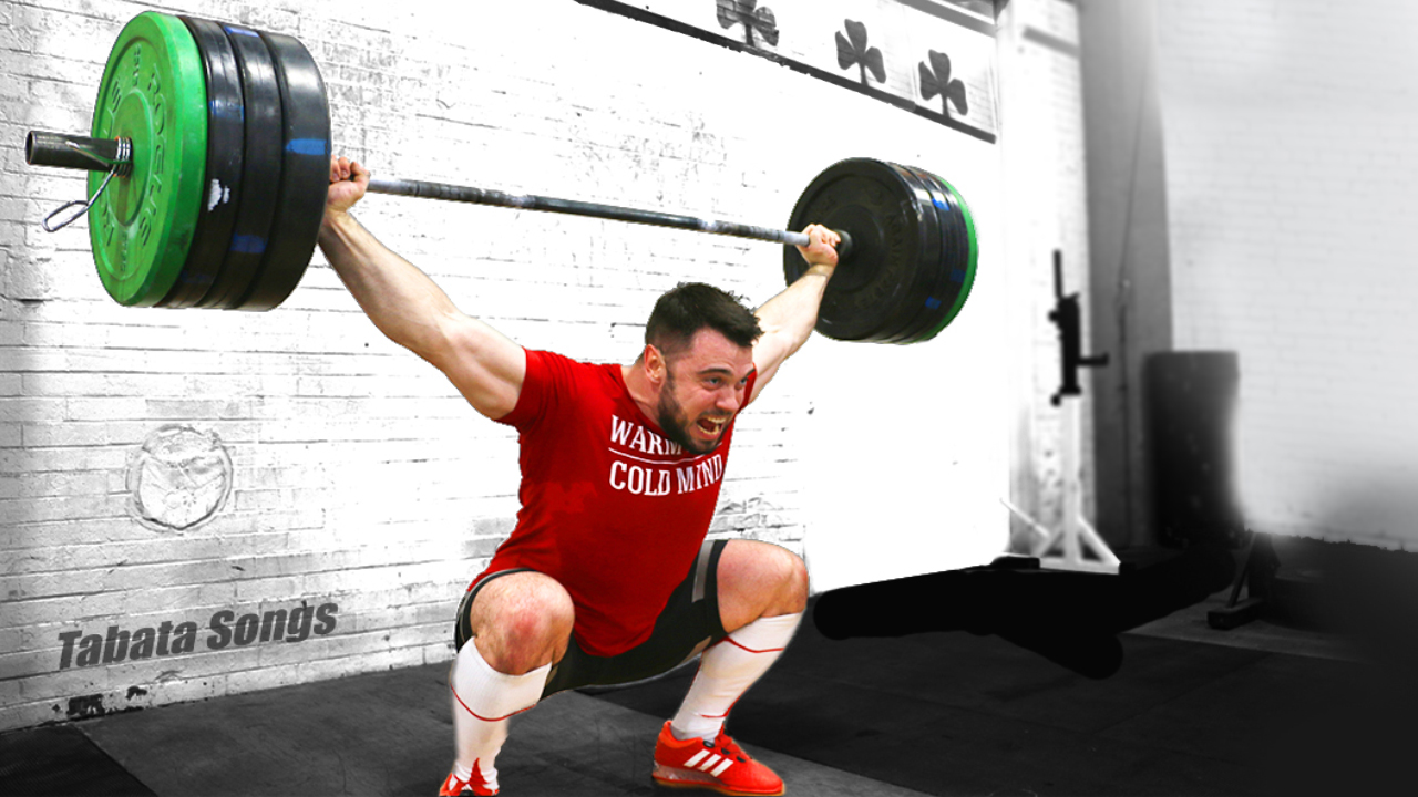 Olympic Champion Aleksey Torokhtiy turns to CrossFit with Tabata Songs