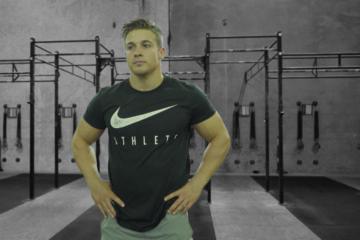 Mitch Wagner Tabata Burpee CrossFit