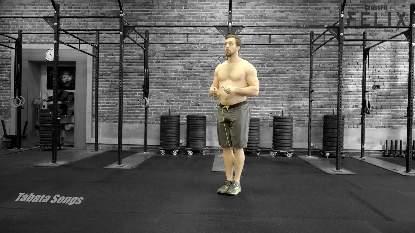 TABATA Double-Unders w/Dave Hunt