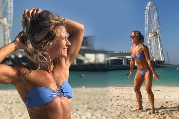 Inger Houghton Beach Tabata Workout