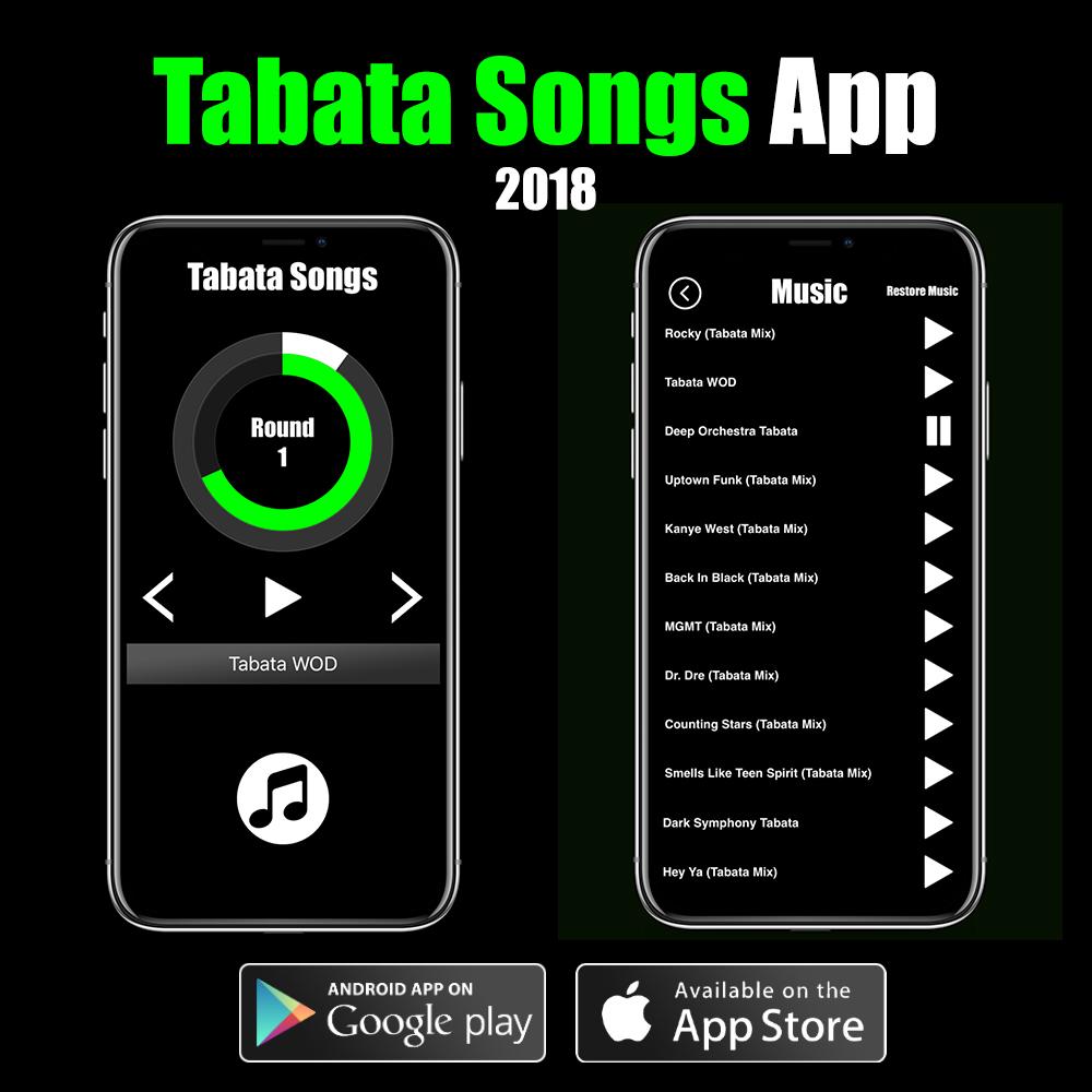 Tabata Songs App