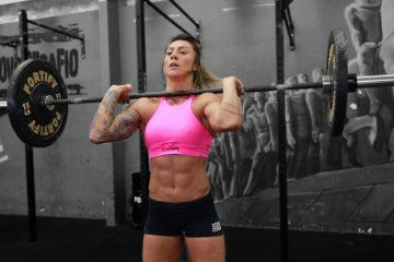 Caro Hobo CrossFit Brazil Tabata