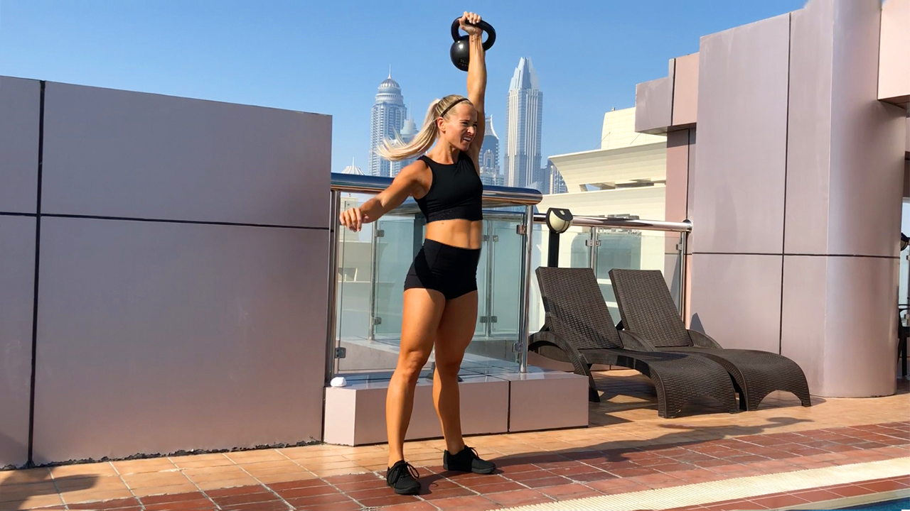Inger's Kettlebell Workout